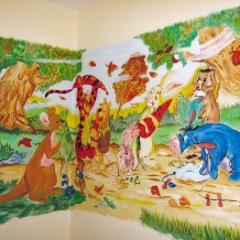 100 000 Forint értékű Gyermek szoba festés